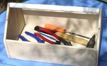 Tutoriel : fabrication d'une boîte à outils en bois !
