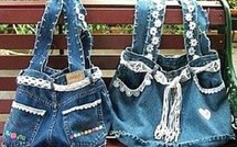 Des idées pour recycler vos vieux jeans !