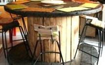 Recyclage : quoi faire avec un touret en bois !