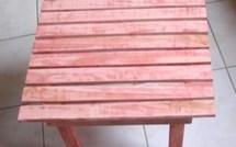 Fabrication d'une tablette en bois de récup !
