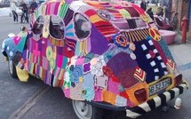 La folie du tricot, le Yarnbombing est très tendance !