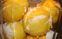 Comment faire des citrons confits !