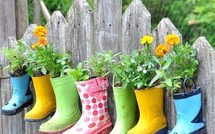 Des pots de fleurs originaux et insolites