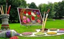 Superbes sculptures végétales !