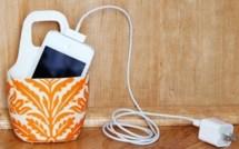 Faire un étui de protection pour téléphone portable en charge