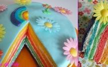 5 recettes de gâteaux arc-en-ciel