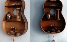 Recycler des guitares pour la déco !
