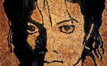 Portraits de Stars réalisés en mégots de cigarettes
