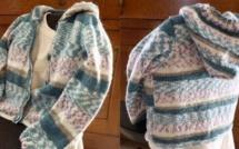Gilet en tricot avec tutoriel capuche