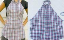 Idées récup et recyclage chemises !