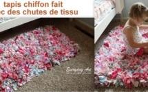 Faire un tapis avec des chutes de tissu ou comment recycler du tissu