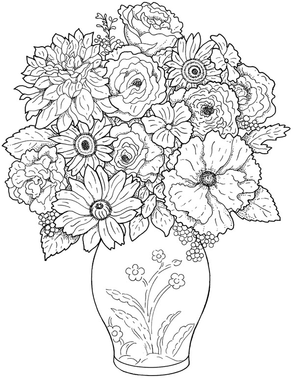 Coloriage Anti Stress Magazine.Coloriage Anti Stress Fleurs Coloriage Anti Stress