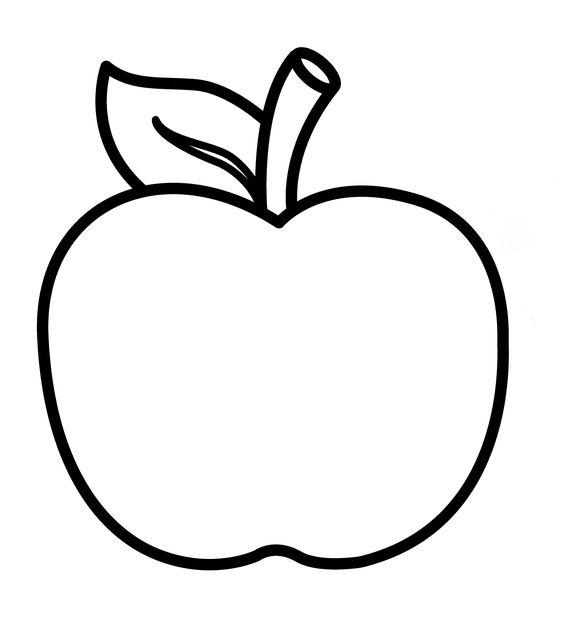 Coloriage pomme gabarits fruits galerie nafeuse 39 magazine - Pommes dessin ...