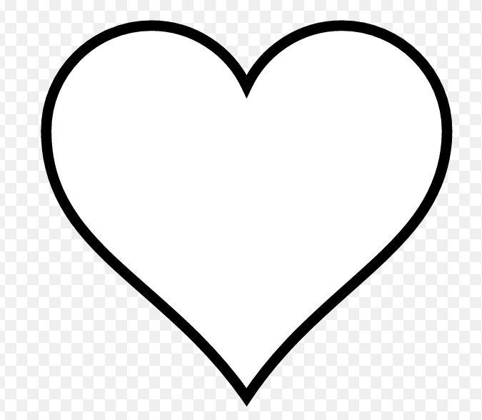 Dessin gros coeur gabarits divers galerie nafeuse - Coeur en dessin ...