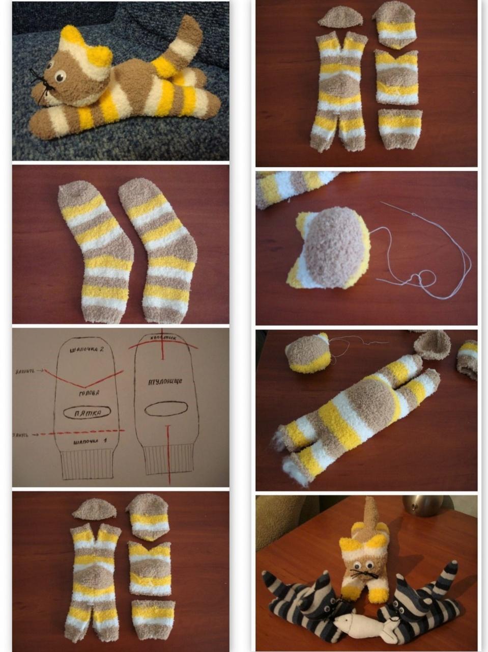 tuto faire un chat chaussette tutos laine galerie nafeuse 39 magazine. Black Bedroom Furniture Sets. Home Design Ideas